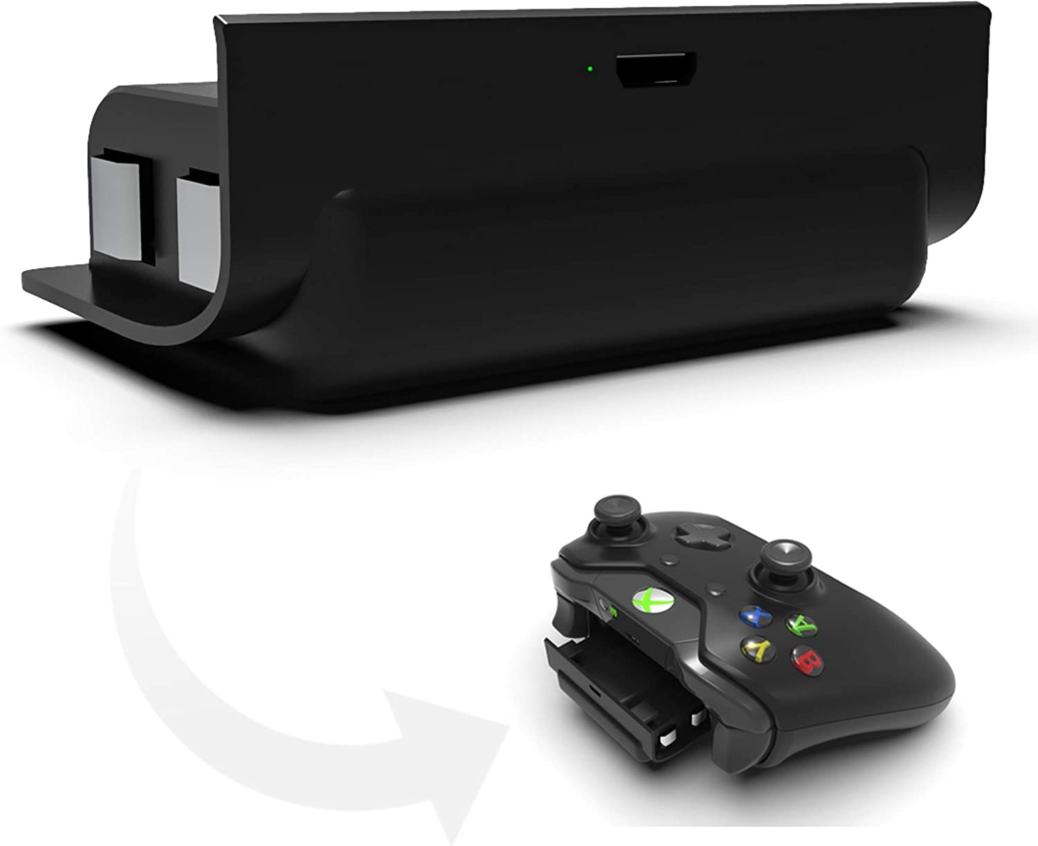 Charge & Play Kit Rechargeable Battery Pack for XBOX ONE Gamepad Controller [Importación Inglesa]: Amazon.es: Videojuegos