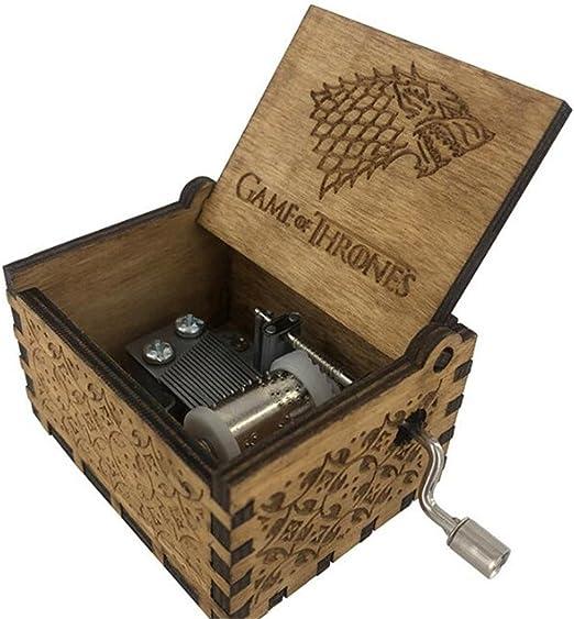 Cuzit Caja de música, diseño de juego de tronos: Amazon.es: Hogar