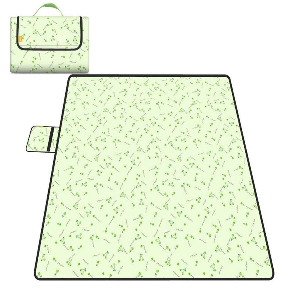 ZKKWLL Picnic Blanket Large Picnic Blanket, Beach Carpet mat Folding and Portable for Beach Travel Compact Beach Blanket Beach mat (Color : B) by ZKKWLL