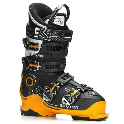 e0bba4be Salomon X-Pro 100 Ski Boots - 31.5/Black-Safran-White