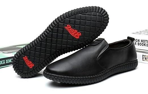 HYLM Herren Freizeitschuhe Bequeme Weiche Boden Weiche Schuhe Outdoor Sportschuhe Fahr Schuhe , 38 , black