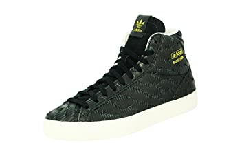 Damen Adidas Basket Leder Eagle Profi Schwarz Sneakers BsChQdtrxo