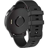ISABAKE Klockarmband för vivoactive 3/Vivomove 3S/Vivoactive 4S, Quick Release Band Garmin Legacy Saga-serien - Rey…
