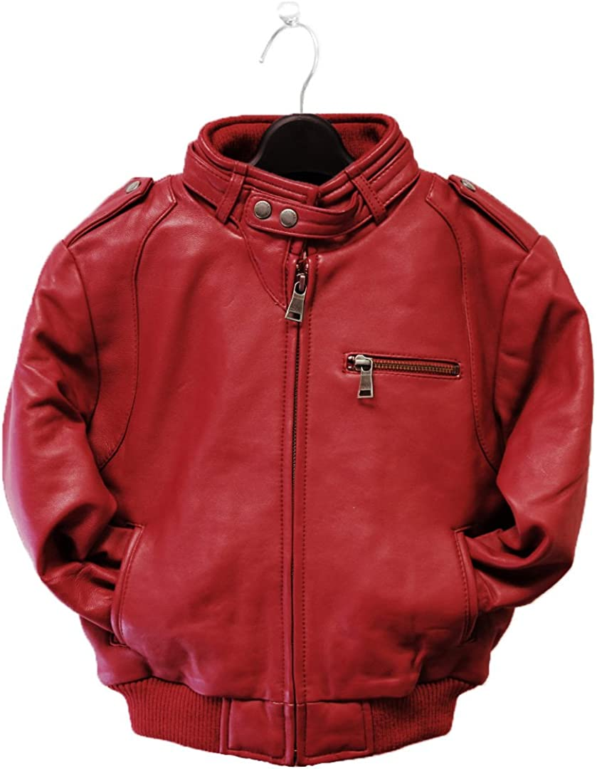 Tanners Avenue Mens Genuine Lambskin Leather Bomber Jacket