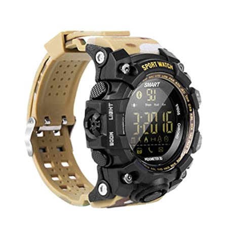 QYQ Relojes Deportivos Digitales Relojes Militares y cronómetro Luminoso Impermeable Impermeable Alarma Reloj Deportivo Simple para