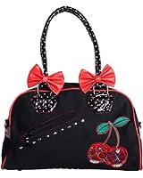 Banned Damen Tasche - Cherry Skulls Henkeltasche