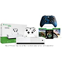 Microsoft Xbox One S 1TB All-Digital Edition Console Bundle + Midnight Forces II Special Edition Wireless Controller | Include:Xbox One S 1TB Console, Wireless Controller