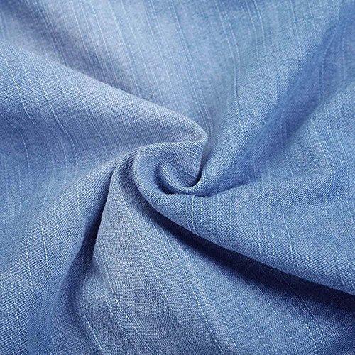Bleu Casual Huateng 1 Drawstring pour femmes en Fashion Jeans des Pantalon sport de l't vrac qqOxpr