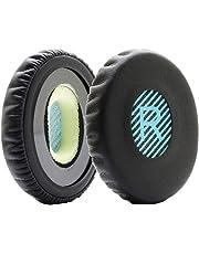 MMOBIEL Coussinets de Remplacement (Bleu/Noir) Compatible avec Casques Bose Sound Link OE, OE2 et OE2i