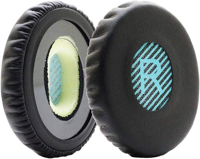 Ohrpolster GRAUES Leder Ohr Kissen Kit für Bose SoundLink On-Ear Kopfhörer