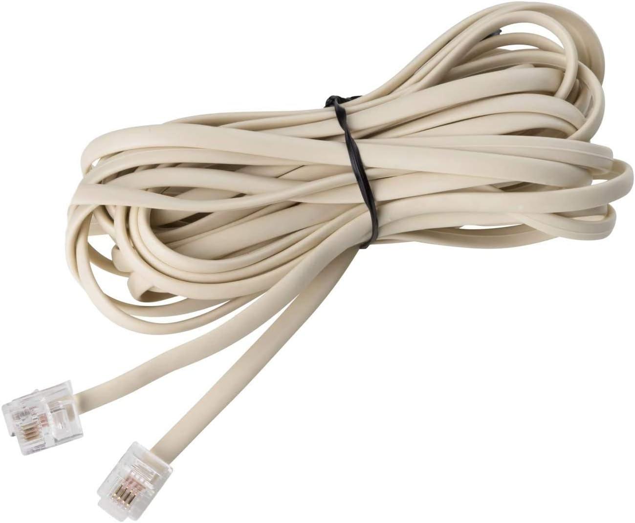 tel/éfono fijo con cancelaci/ón de ruido montado en la pared con altavoz para uso en el hotel de oficina en casa Tel/éfono con cable de 2 l/íneas con pantalla de identificaci/ón de llamadas entrantes