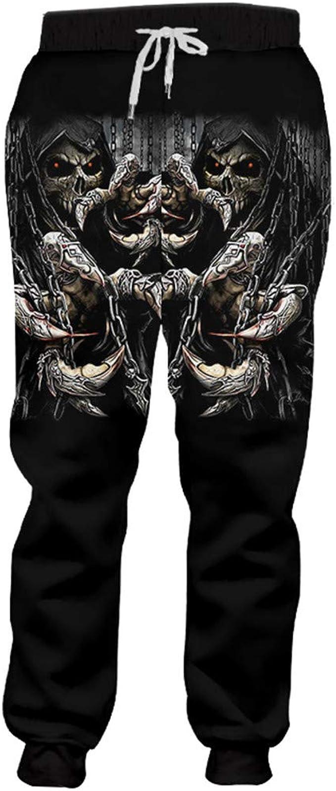Ken-Rostisy Pantalones de Entrenamiento de Fitness para Hombre ...