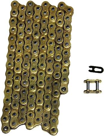 520 x 112 Heavy Duty Gold O-Ring Chain 520x112 w// Master Link FS-520-OG Factory Spec