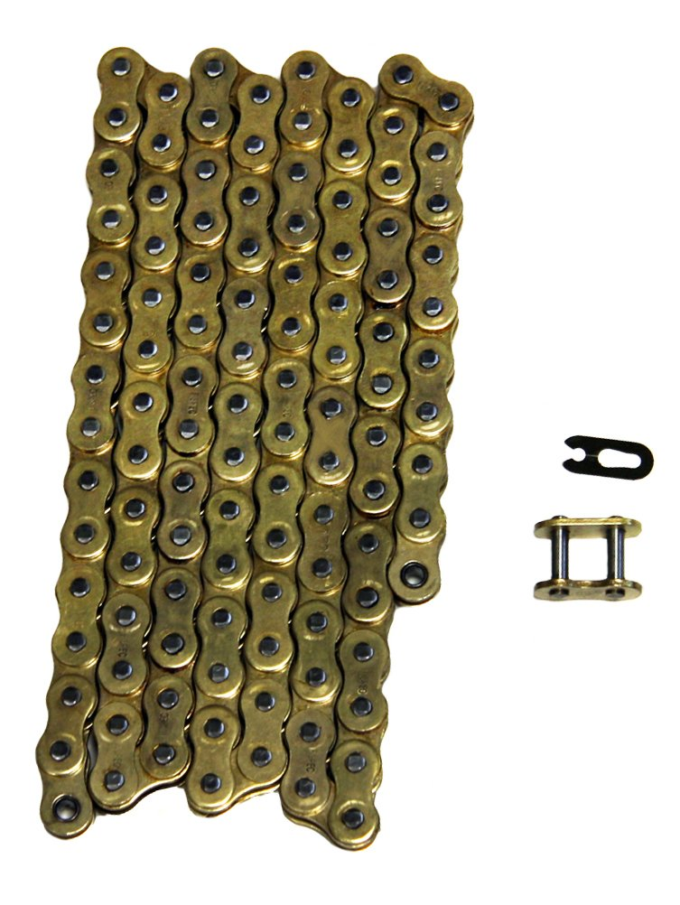 Heavy Duty Gold Drive Chain 520x112 520 Pitch 112 Links Factory Spec FS-520-NZG