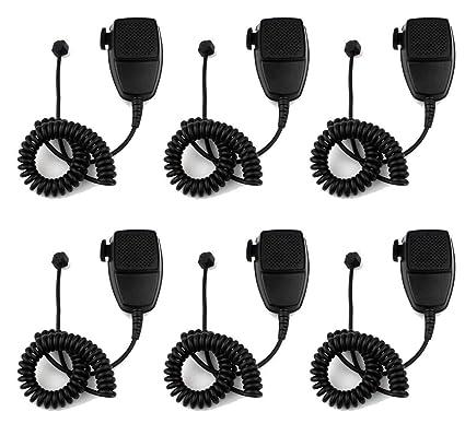 Amazon com: FidgetGear 6pcs 8pin Speaker Mic Microphone for