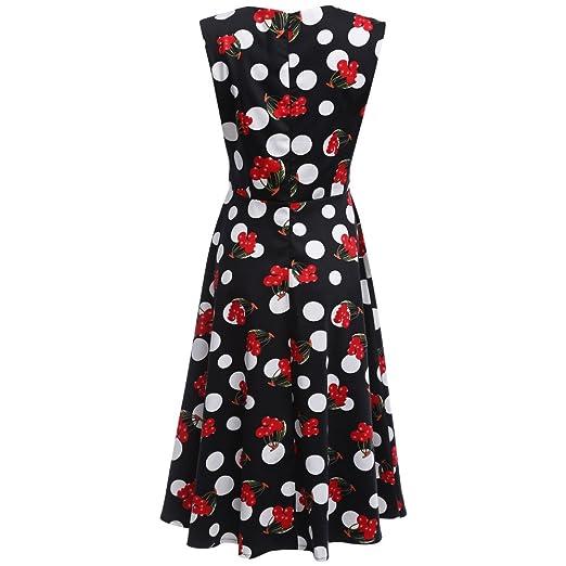 RoseGal - Vestido - para mujer negro negro XX-Large: Amazon.es: Ropa y accesorios