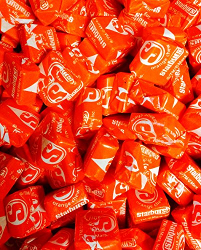 Orange Starburst Five Pounds Wholesale product image