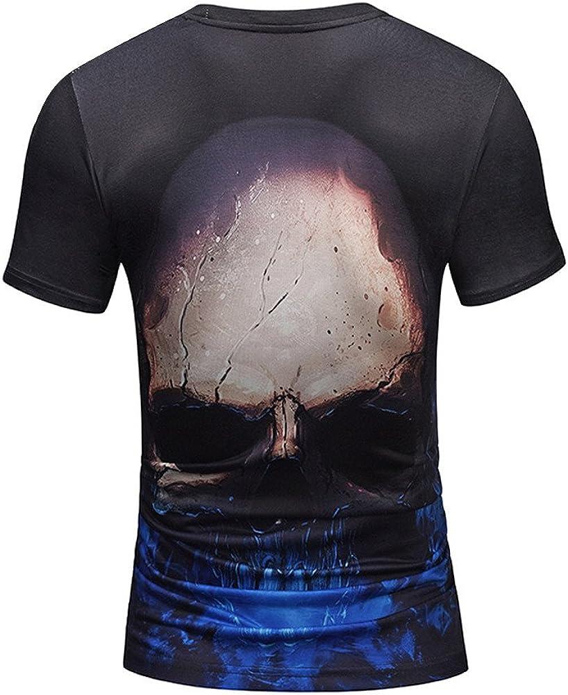 Kinlene Hommes /ét/é Impression de Mode Hommes /à Manches Courtes T-Shirt