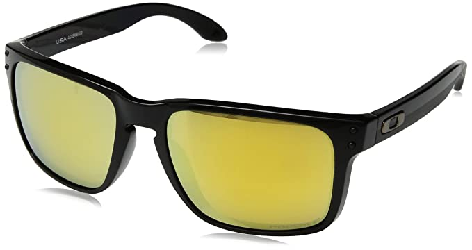 5abb09d62f Oakley Holbrook XL - anteojos de sol polarizadas para hombre, color negro  pulido, 59