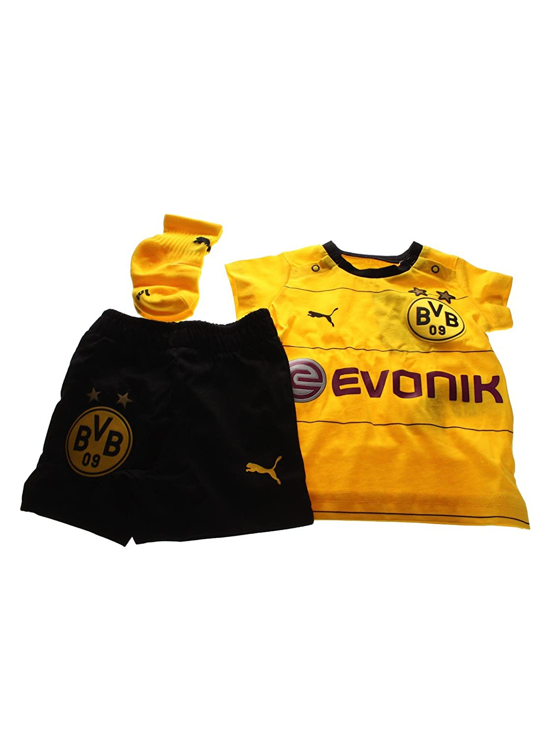 PUMA Baby Set BVB Home Babykit with Socks und Sponsor