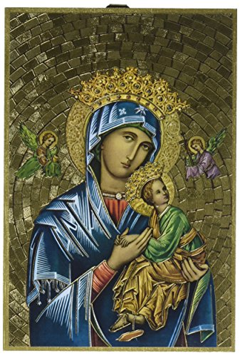 StealStreet SS-Wjh-46E-208 Our Lady of Perpetual Help Foil Mosaic Plaque Mosaic Plaque