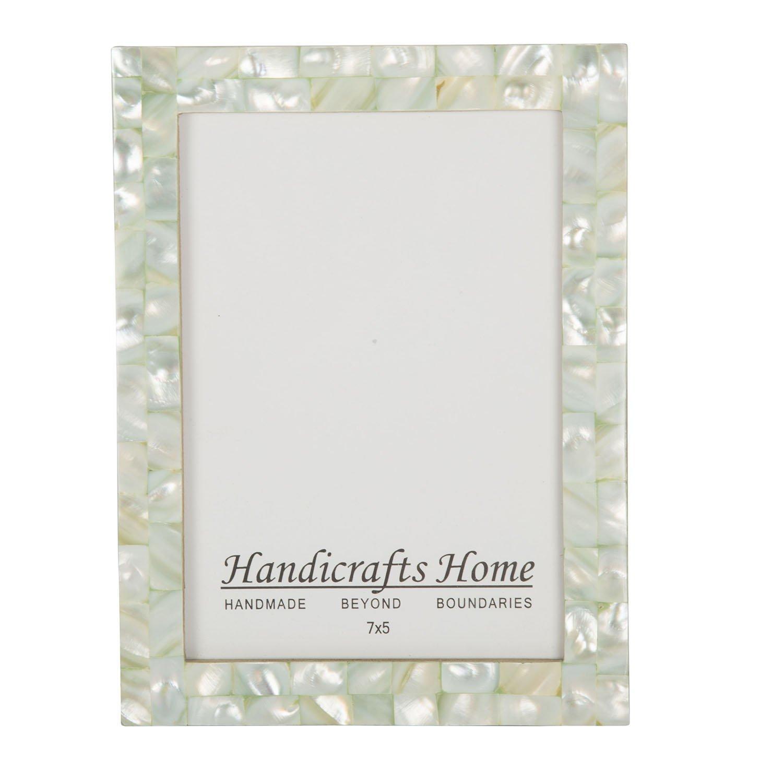 Amazon.de: Handicrafts Home 5x7 Bilderrahmen Schick Fotorahmen ...