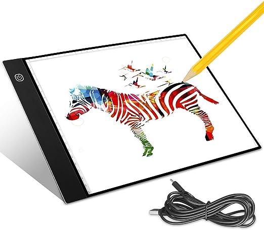 Aitsite Tableros de Dibujo LED Tracking Pad Tableta de Luz A4 Mesa ...