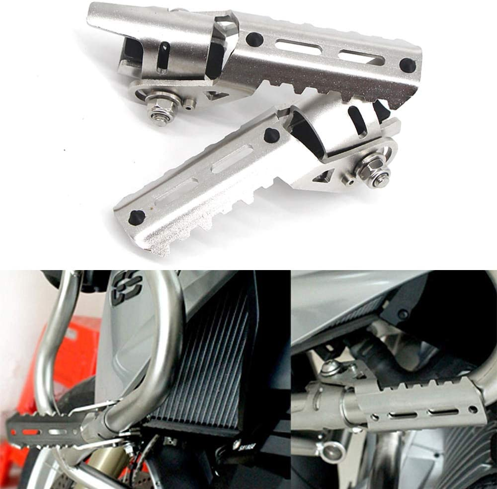 LIWIN Motorbike Accessories For BMW R1200GS R 1200 R1200 GS Adv Adventure LC 2013-2019 Motorcycle Highway Front Foot Pegs Folding Footrests Clamps 22-28mm