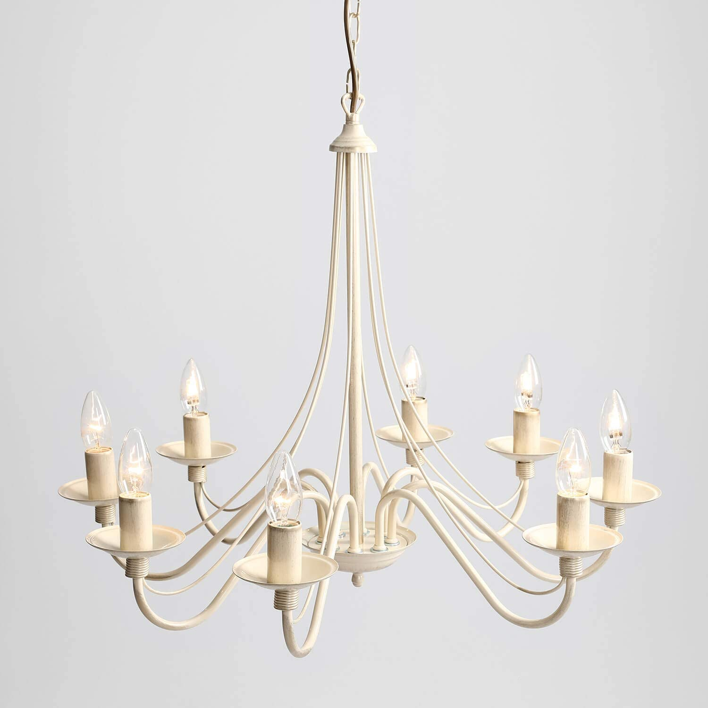 Kronleuchter L/üster Pendelleuchte Gold aus Metall E14 Esstisch Rustikal opulent Wohnzimmer Leuchte H/ängelampe