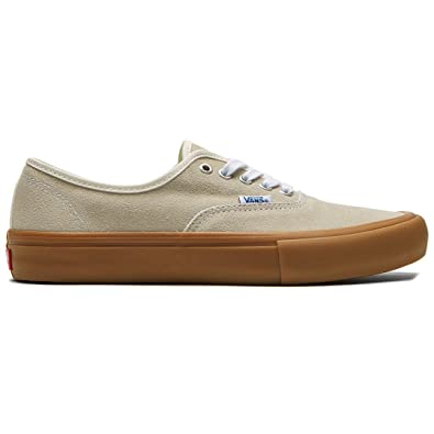 Amazon.com | Vans Authentic Pro (Classic White/Light Gum) Men's ...