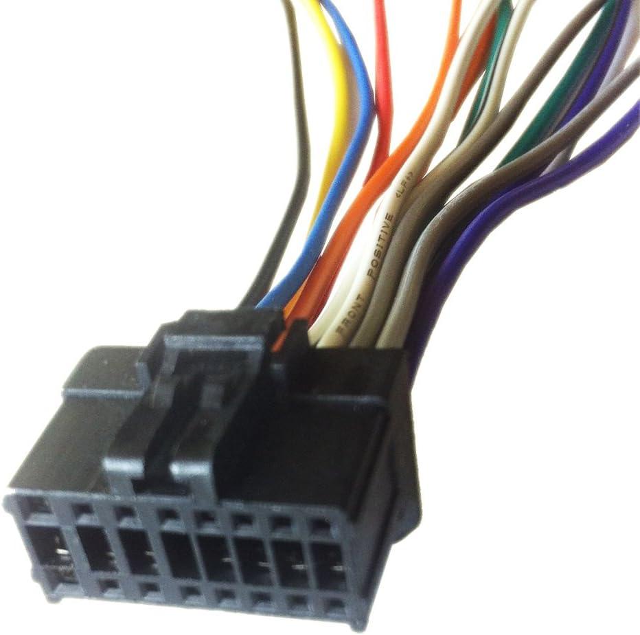 [DIAGRAM_1CA]  Amazon.com: PIONEER DEH-P680MP / DEH-P6800MP Wiring Harness Plug:  Everything Else | Pioneer Deh 14 Wiring Diagram |  | Amazon.com