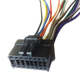 amazon com pioneer deh p310ub deh p3100ub wiring harness plug rh amazon com Pioneer Deh 2100 Wiring-Diagram Pioneer Deh 2100 Wiring-Diagram