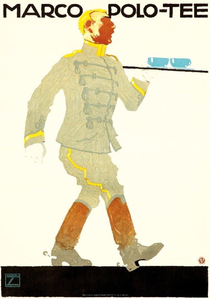 Marco Polo – Teeヴィンテージポスター(アーティスト: Ludwig Hohlwein )ドイツC。1914 36 x 54 Giclee Print LANT-65922-36x54 B01MG3UNNK  36 x 54 Giclee Print