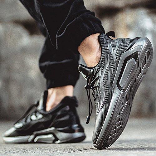 Men's Shoes Feifei Leisure Movement Wear-Resistant Tide Shoes 2 Colours(Size Multiple Choice) (Color : 01, Size : EU39/UK6/CN39)