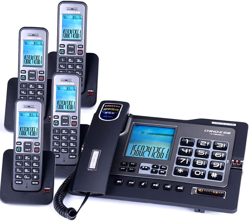 JPP Teléfono inalámbrico/teléfono Fijo línea Fija Dual Interfaz Llamada Ajuste de Volumen Llamadas de Tres vías (2 Estilos): Amazon.es: Hogar