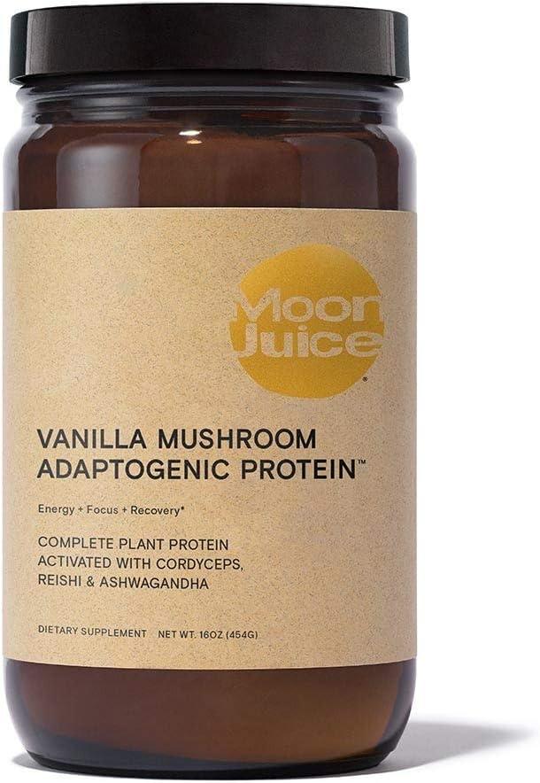 Moon Juice - Vanilla Mushroom Adaptogenic Protein   Energy, Focus, and Recovery: Health & Personal Care