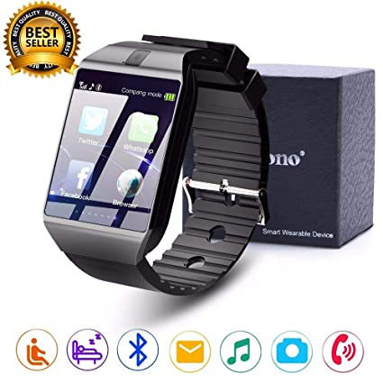 Amazon.com: Smart Watch DZ09 Relojes Smartwatch Relogios TF ...