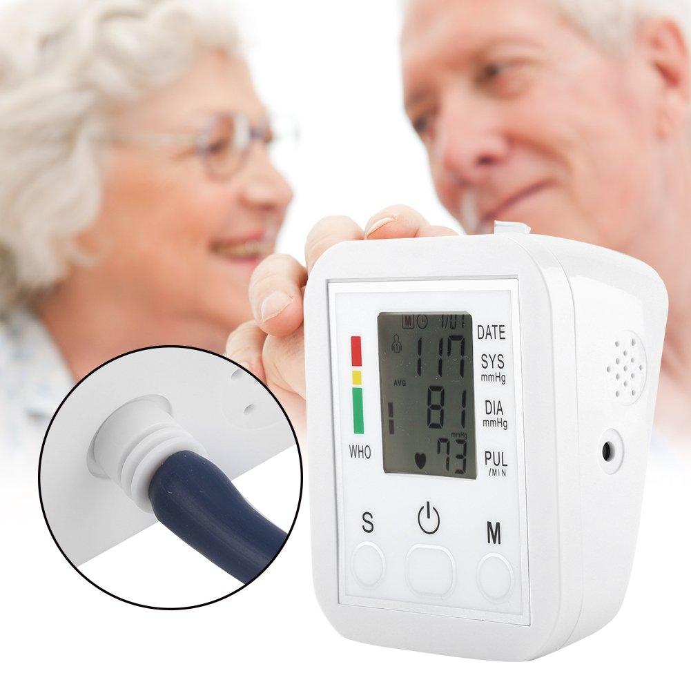 Fdit Monitor de Presión Arterial Electrónica Tipo de Brazo Pantalla LCD de Atención Médica Resistente y Duradero Socialme-EU: Amazon.es: Hogar