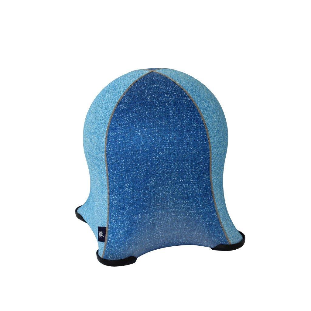 スパイス エクササイズチェア ジェリーフィッシュチェアー ジュニア デニムネイビー&ブルー WKC103SNB B06VVJ1R4X  デニムネイビー&ブルー