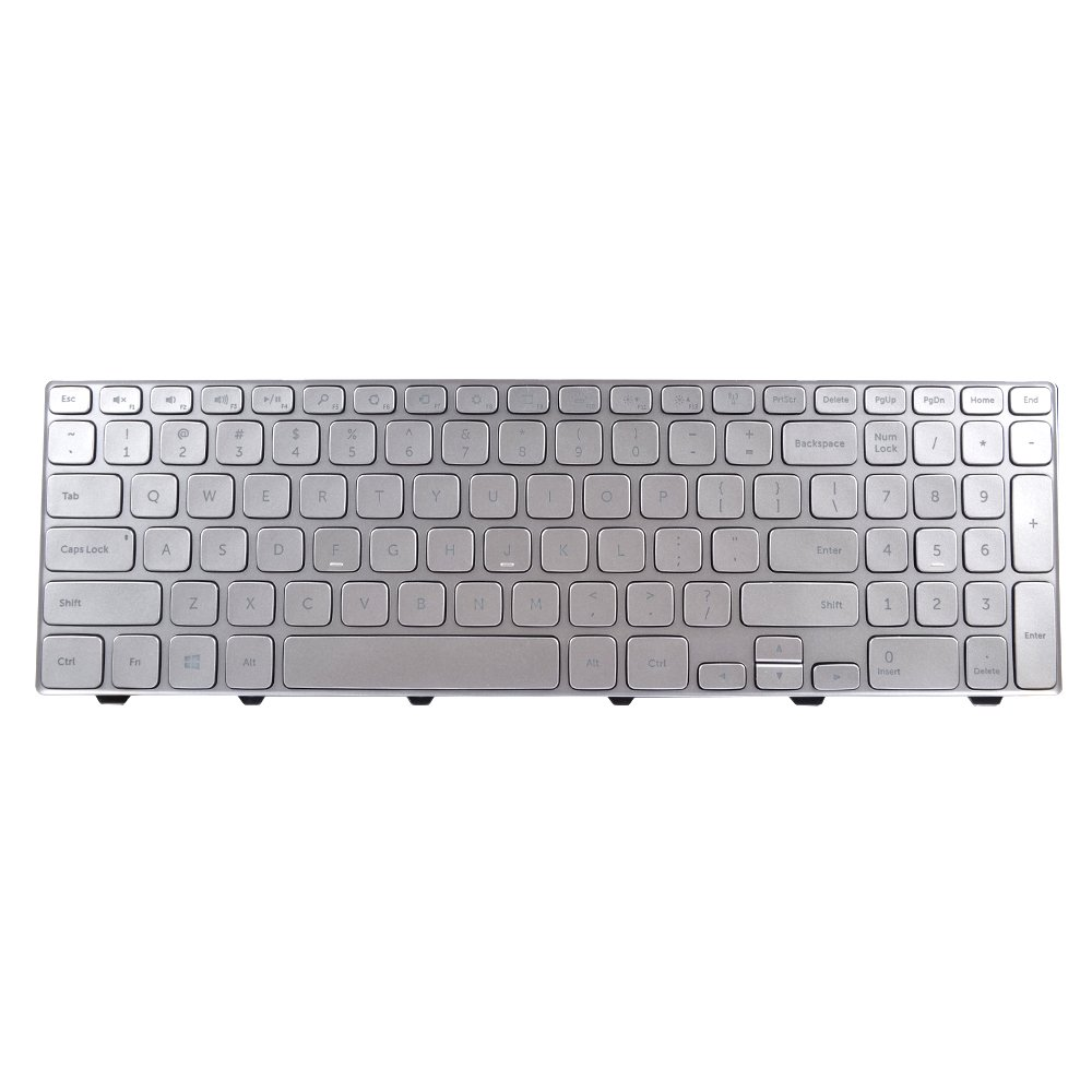 Eathtek Replacement Keyboard with Backlit for Dell Inspiron