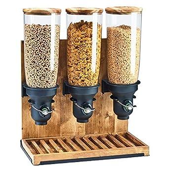 Cal-mil 3576 – 1-99ff flujo libre dispensador de cereales, 1 Cilindro