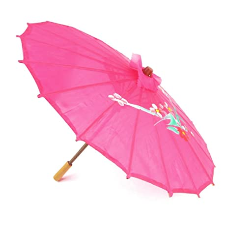 Amazon.com: Flor Imprimir bambú chino Oriental paraguas ...