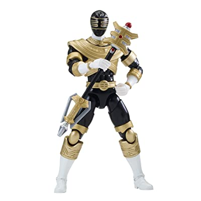 "Power Ranger 6.5"" Legacy Action Figure, Zeo Black: Toys & Games [5Bkhe0506848]"