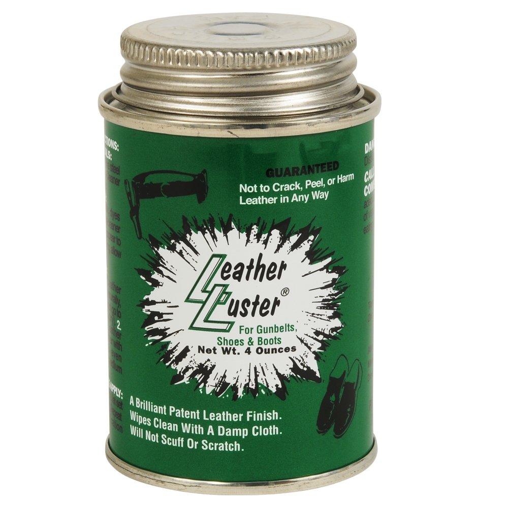 Leather Luster Polish Gloss Shoe Shine 4 Ounce