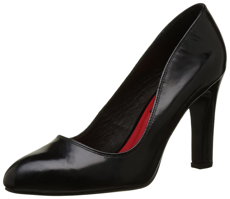 Elle Monge - Zapatos de Talón Abierto Mujer 39 EU|Negro (Vernis Noir)