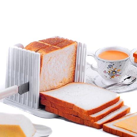 philna12 cocina Pro cortador de pan de molde (color blanco)