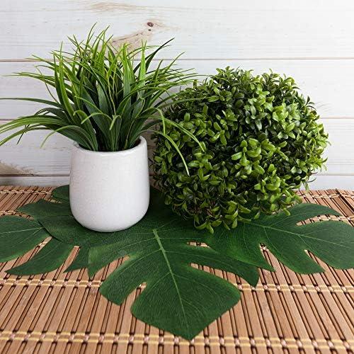 toys, games, party supplies,  centerpieces 12 picture Super Z Outlet Tropical Imitation Plant Leaves 8 deals