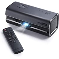 iRULU H6S Bluetooth DLP Home Theater Projector (Black)