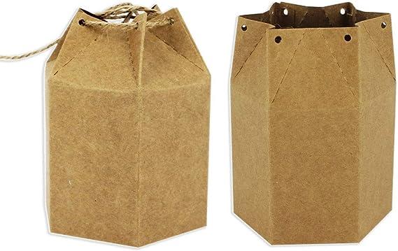 Starpalst, Pack de 6 Cajas Kraft Caja de Regalo, de Cartón, Para ...