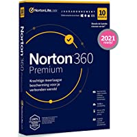 Norton 360 Premium 2020, 10 Apparaten, 1 Jaar , Secure VPN en Password Manager, PCs, Macs, tablets en smartphones